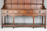 Antique Oak & Pine Kitchen Dresser (4 of 12)