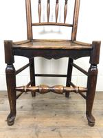 Set of Four 19th Century Elm Country Chairs (4 of 13)