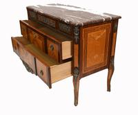 Neo Classical Swedish Commode Marquetry Chest of Drawers Scandanavian (12 of 16)