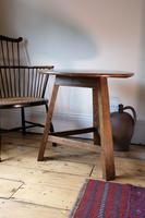 Late 18th Century Oak Cricket Table (12 of 20)