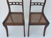 Pair of Early 19th Century Regency Mahogany Chairs (4 of 4)