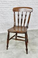 Set of 6 Antique Spindleback Kitchen / Dining Chairs (8 of 8)