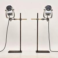 1950's Pair of Vintage Spotlights / Table Lamps (2 of 15)