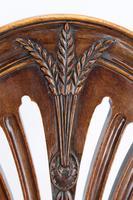 Edwardian Hepplewhite Mahogany Desk Chair (7 of 13)