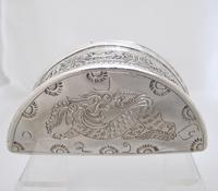 Beautiful Antique Silver Shan States Burmese Lime Box c.1900 (5 of 8)