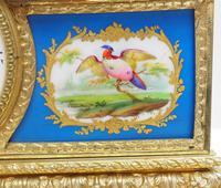Antique 8 Day Ormolu Mantel Clock Sevres Mother & Child French Mantle Clock (4 of 16)
