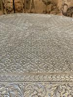 Indian Silvered Coffee Table (5 of 6)