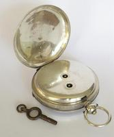 Antique Silver Pocket Watch for Gittus of London (4 of 6)