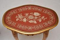Pair of Antique French Style Giltwood Side Tables (10 of 10)