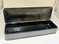 Antique Oriental Hand Painted Lacquer Glove Box c.1870 (5 of 5)