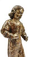 17th Century Carved Walnut Figure (7 of 11)