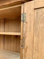 Antique Victorian Pine Shelved Larder Cupboard (11 of 19)