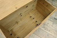 Wow! Big! Old Pine Domed Blanket Box / Chest / Trunk - We Deliver! (9 of 10)