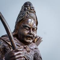 Japanese Bronze Figure (10 of 10)