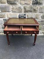 Antique Walnut Writing Library Table (7 of 8)