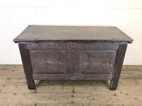 Antique 18th Century Joined Oak Coffer (15 of 15)