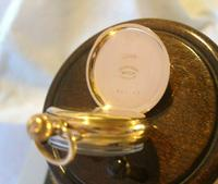 Antique Waltham Pocket Watch 1909 Ladies 7 Jewel 9ct Gold Filled Case With Curious Inscriptions Fwo (8 of 12)