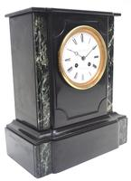 Antique French Slate Mantel Clock Wow! Striking 8-day c.1890 (3 of 11)