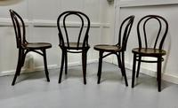 Set of 4 Bistro Bentwood Chairs (3 of 5)