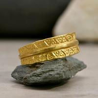 The Viking Age Iron Heart Gold Ring (3 of 6)