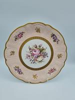 Vintage German Porcelain Plates / Chargers Bavarian /Set of Three (23 of 32)