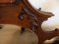 A lovely Mahogany Round Bevel Edged Mirror 1860's? (4 of 6)