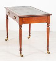 Freestanding Victorian Mahogany Writing Table (7 of 10)