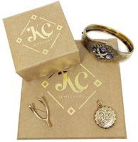 Vintage 18ct Gold Four Garnet Crystal Ring (9 of 9)