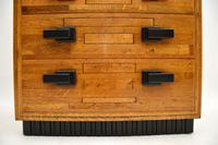 Art Deco Solid Oak Chest of Drawers (8 of 12)