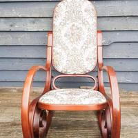 20th Century Bentwood Rocking Chair (3 of 10)