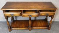 Oak Period Style Dresser Base - Royal Oak Furniture (4 of 10)