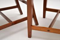Pair of Art Deco Vintage Solid Mahogany Side Chairs (5 of 11)