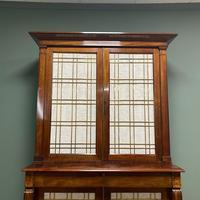 Mahogany Antique Bookcase Cupboard – Charles C Gray 1848 (2 of 9)