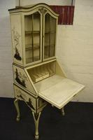Lovely Antique Chinoiserie Bureau Bookcase (6 of 8)