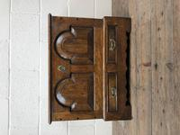 Antique 18th Century Style Welsh Oak Coffer Bach (8 of 14)