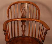 Ash & Elm Low Back Windsor Chair Rockley (4 of 8)