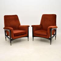 Pair of Italian Vintage Armchairs (10 of 10)