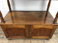 19th Century Mahogany Buffet with Cupboard Base (10 of 18)