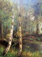 'John Williamson' Superb Woodland Landscape Oil Painting (5 of 11)