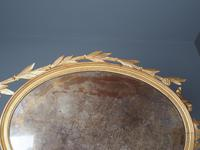 Antique Adam Style Giltwood Wall Mirror (6 of 12)