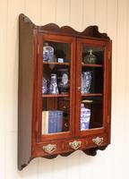 Mahogany Glazed Wall Cabinet (5 of 10)