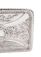 Antique Victorian Sterling Silver Dressing Tray 1898 (5 of 9)