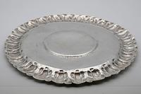 Extremely Rare Commonwealth Sterling Silver Porringer Stand or Salver, London 1656 (4 of 5)