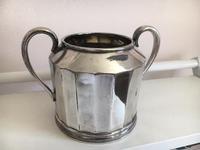 James Dixon & Son EPNS Sugar Bowl & Creamer 1920 (5 of 5)
