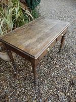 Solid oak school desk (2 of 7)