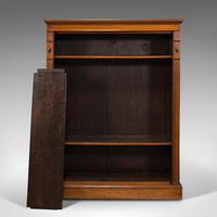 Antique Set Of Bookshelves, English, Walnut, Open Bookcase, Victorian, C.1880 (10 of 10)