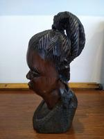 Ebonised African Tribal Tree Carving (4 of 8)