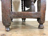 18th Century Antique Oak Gateleg Table (6 of 10)