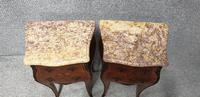 Excellent Pair of French Marquetry Bedside chests (5 of 6)