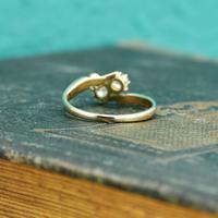 The Antique Old European Cut Diamond Toi Et Moi Ring (5 of 6)